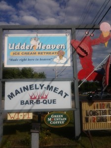 Mainely Meat Barbeque in Bar Harbor, Maine